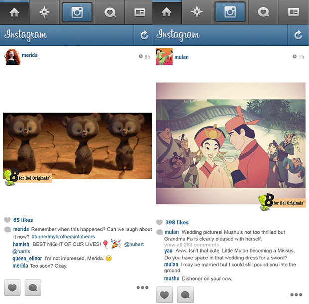 Funniest Instapics Disney Princesses