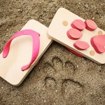 funny beach sandals for kids