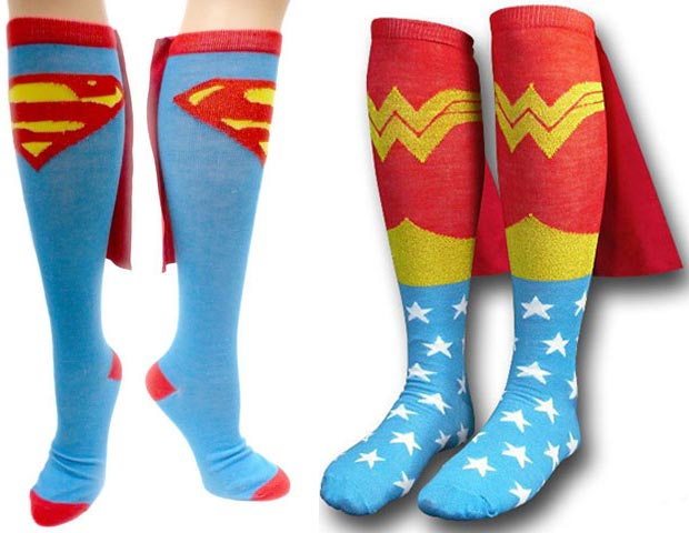 Dare To Wear The Superhero Caped Socks?