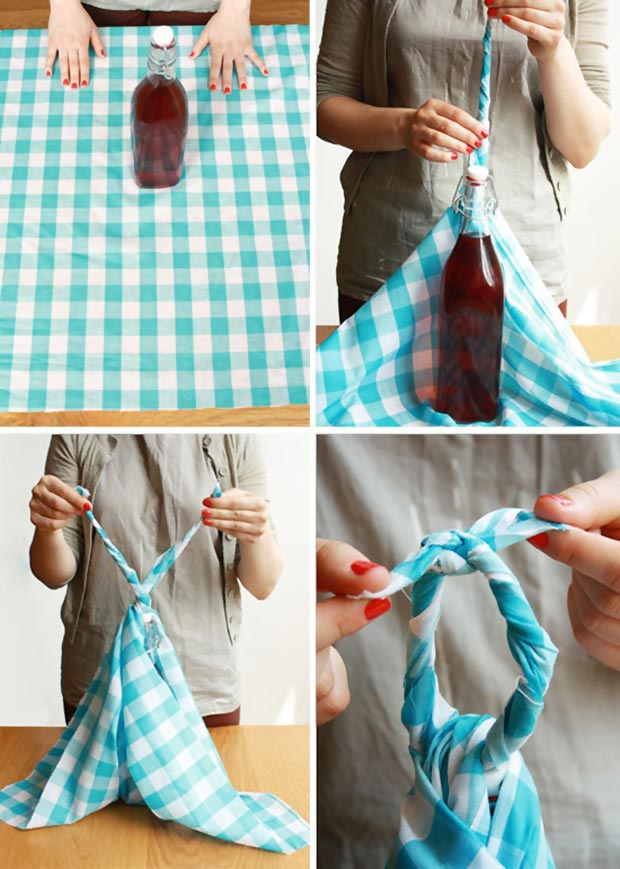 Furoshiki how to