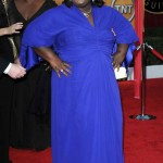 Gabourey Sidibe blue dress 2010 SAG Awards