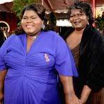Gabourey Sidibe blue dress 2010 SAG Awards 1