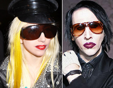 Lady Gaga Vs Marylin Manson