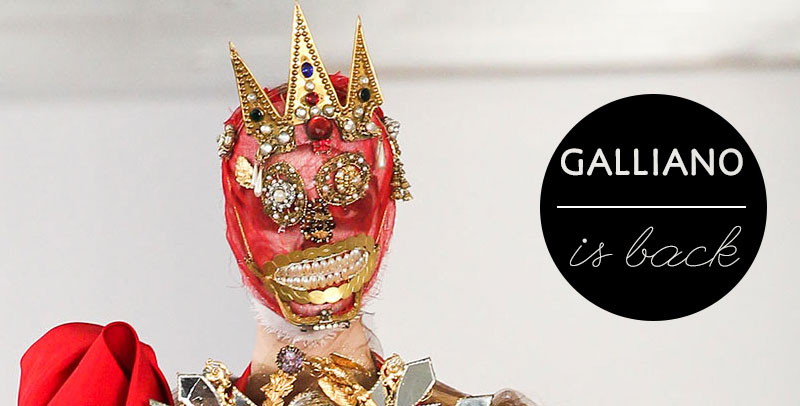 Galliano 39 s couture shines again under maison margiela for Galliano margiela