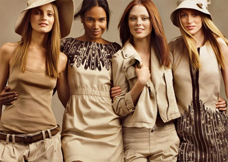 Gap Khaki Collection models