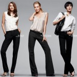 Gap Perfect pants black magic collection