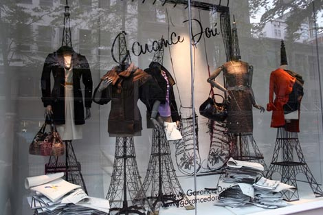 Garance Dore Holt Renfrew Window