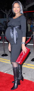 Garcelle Beauvais Nilon Baby bump
