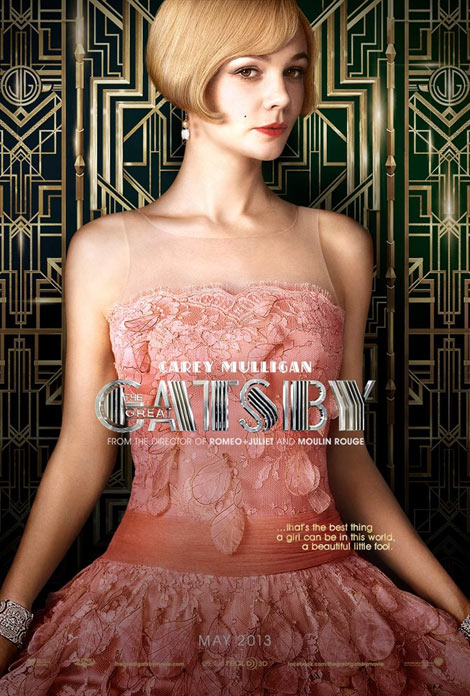 Gatsby Carey Mulligan Daisy in Prada dress