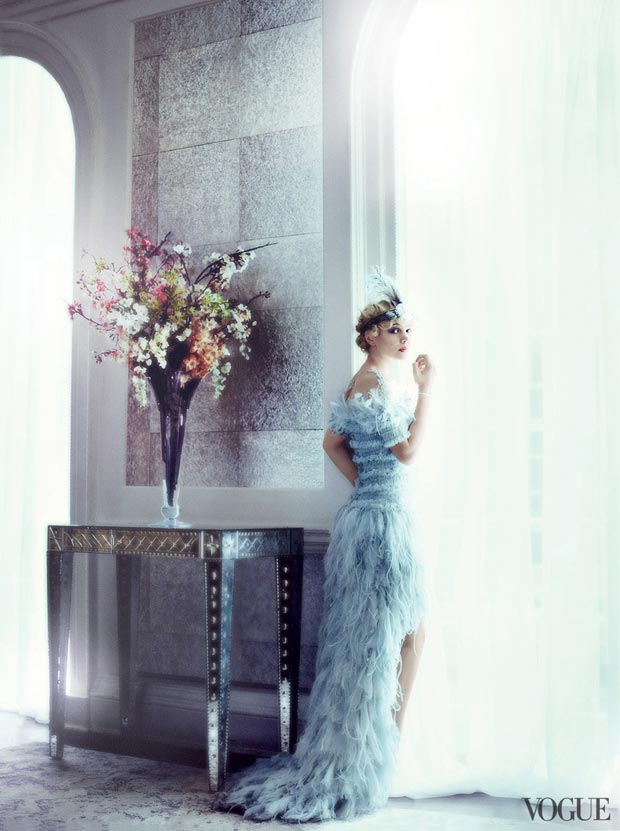 Gatsby s Daisy Carey Mulligan Vogue May 2013