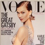 Gatsby themed Vogue Australia Karlie Kloss cover