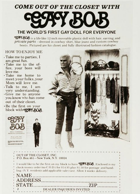 Vintage Advertising: Gay Doll For Everyone!