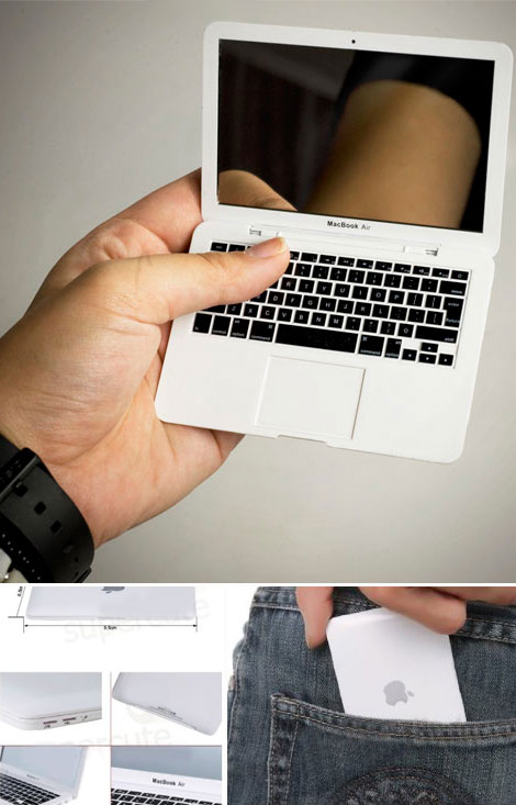 Geek Chic: MacBook Air Portable Makeup Mirror