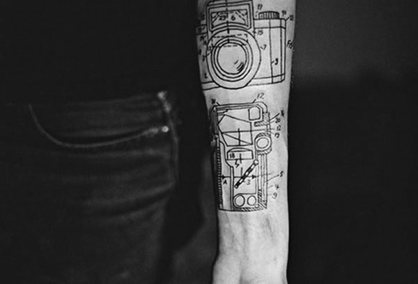 Geek ink mechanic blueprint camera stylefrizz photo gallery geek ink mechanic blueprint camera malvernweather Choice Image