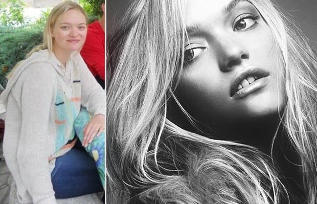 Gemma Ward looks like this then and now