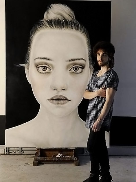 Gemma Ward Huge Artsy Portrait