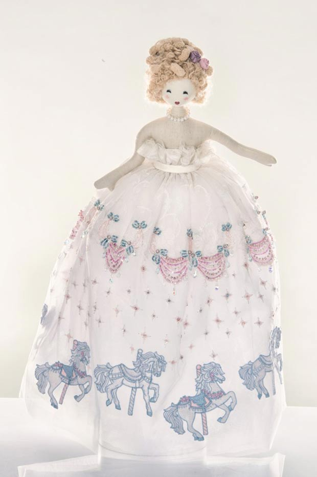 Georges Hobeika Madeleine doll for Unicef