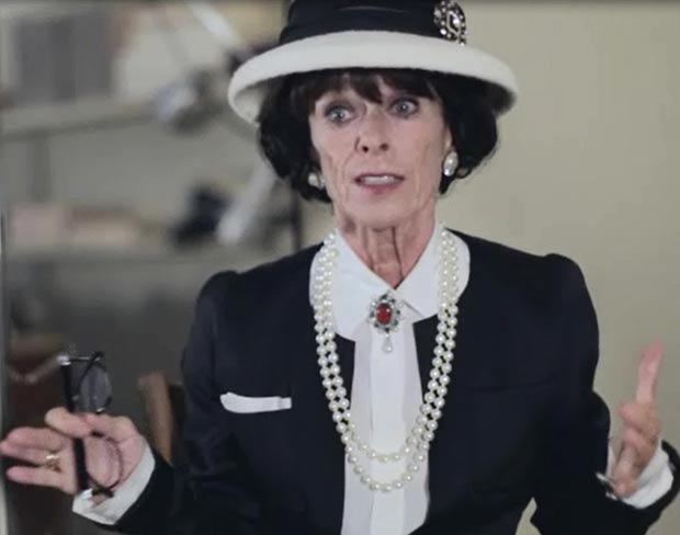 Geraldine Chaplin brilliant as Coco Chanel