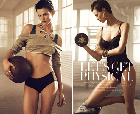 Get Physical With Saskia De Brauw And H & M!