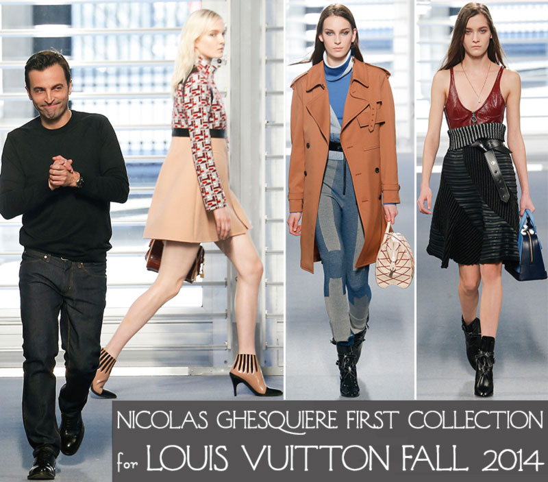 Ghesquiere first Vuitton collection Fall 2014