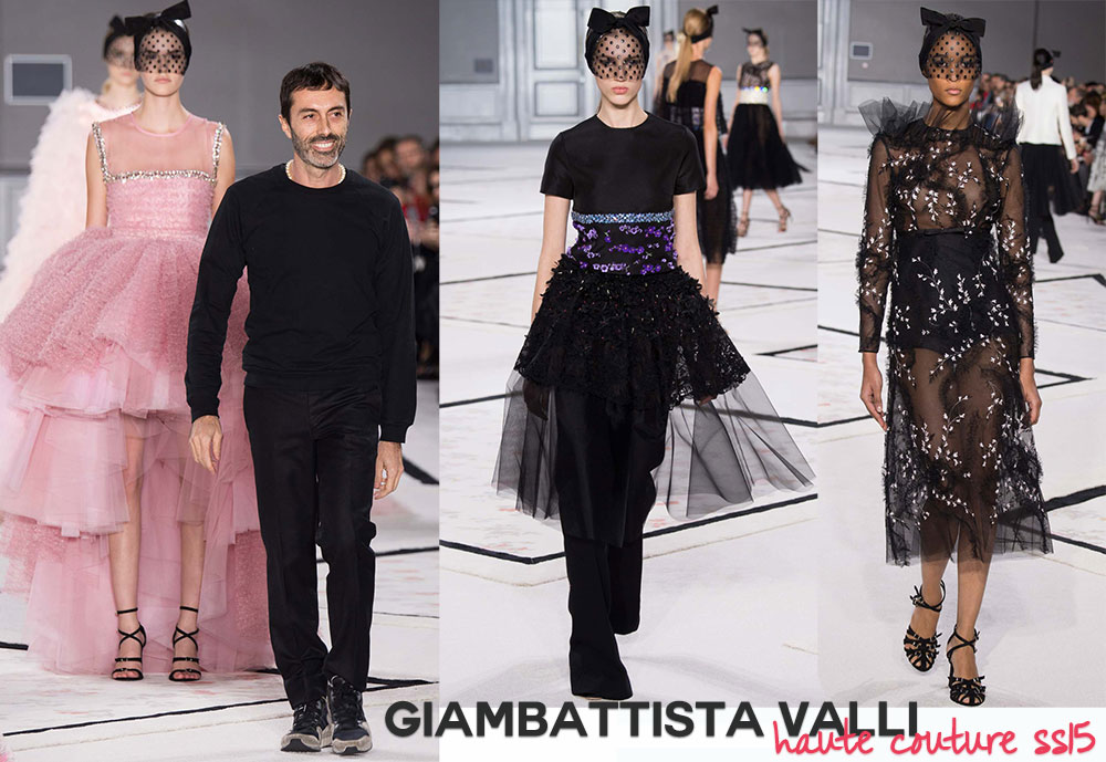 Giambattista Valli Haute Couture Spring 2015 collection