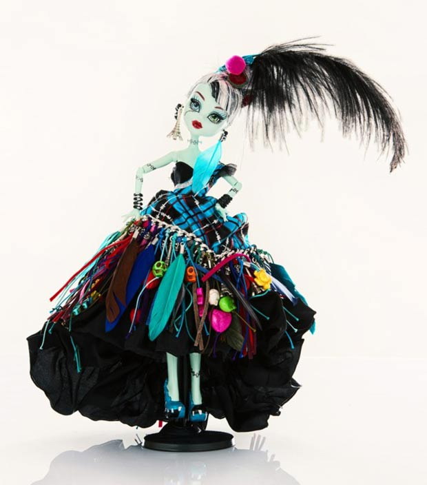 Gilles Dufuor doll for Unicef
