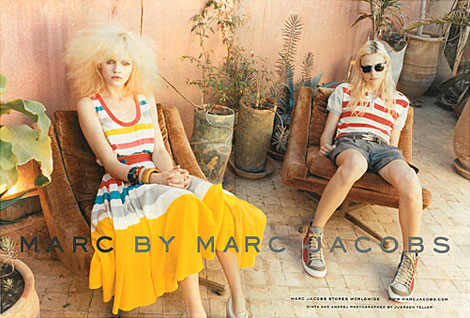 Andrej And Ginta For Marc By Marc Jacobs Summer 2011 Campaign