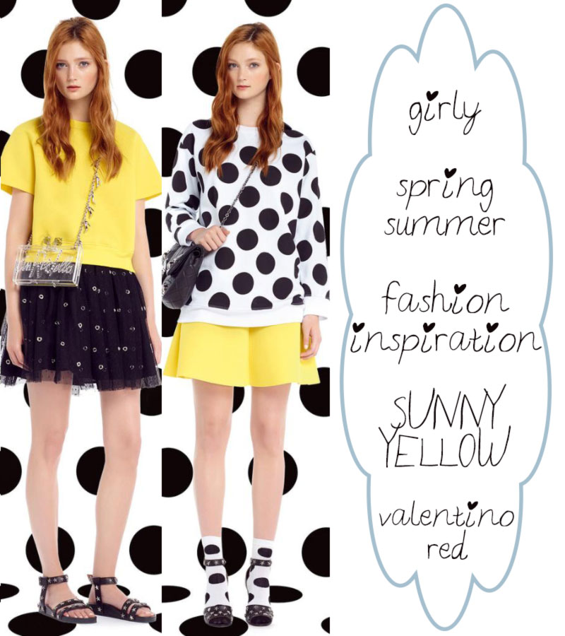 girly fashion inspiration Spring Summer Sunny Yellow