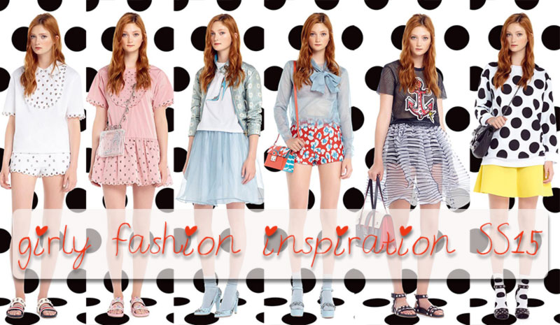 girly fashion inspiration Spring Summer