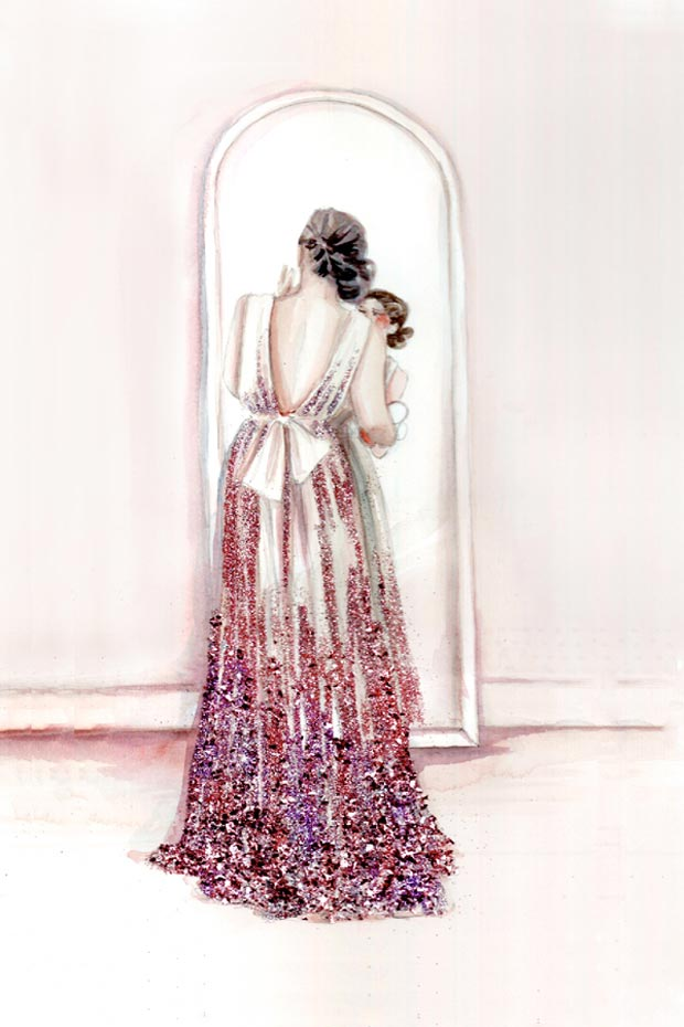 Girly Inspiration: Katie Rodgers Fashion Art