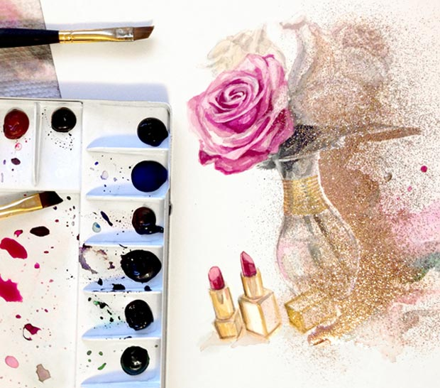 Girly Inspiration Katie Rodgers fashion drawings