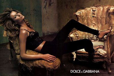 Gisele Bundchen Dolce and Gabbana