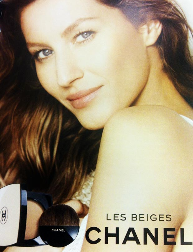 Gisele Bundchen Chanel Beauty ad campaign