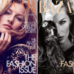 Gisele Bundchen Harpers Bazaar UK September 2010 covers
