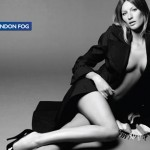 Gisele Bundchen London Fog ad campaign Fall 2009