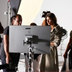 Gisele Bundchen London Fog behind the scenes 3