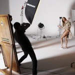 Gisele Bundchen London Fog behind the scenes 5
