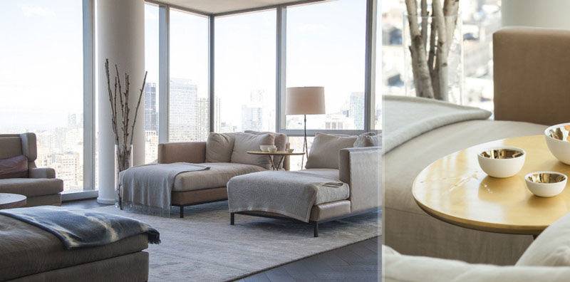 Gisele Bundchen Tom Brady New York apartment decor