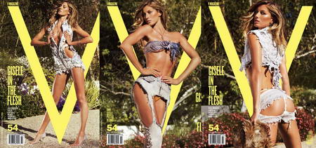 Gisele Bundchen V Magazine no 54 Cover