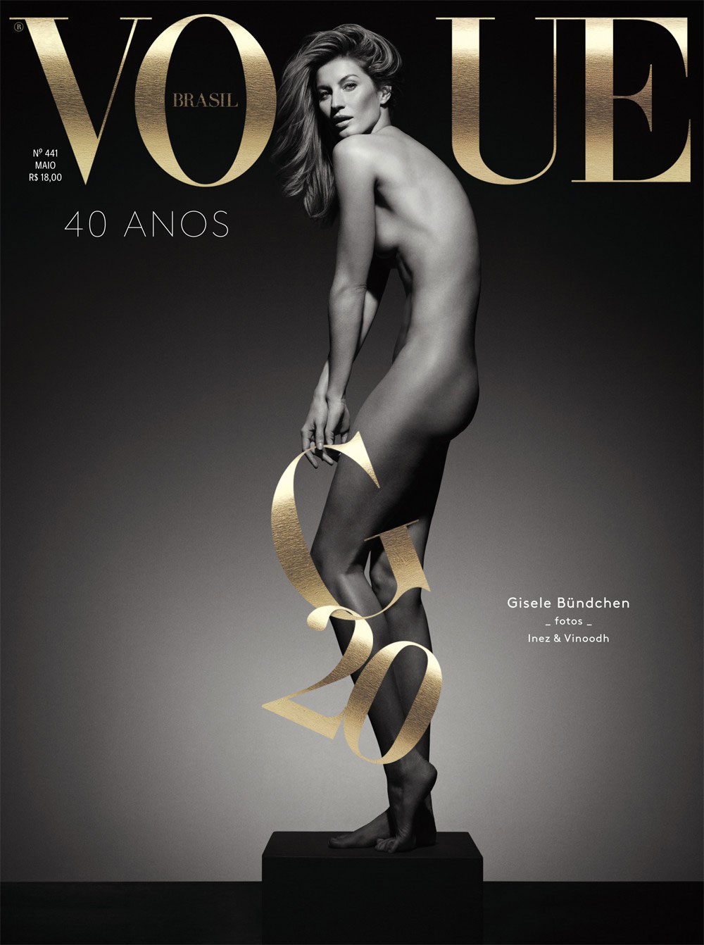 Gisele Bundchen Vogue Brasil cover May 2015