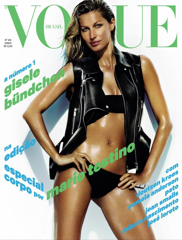 Gisele Bundchen Vogue Brazil June 2013 cover