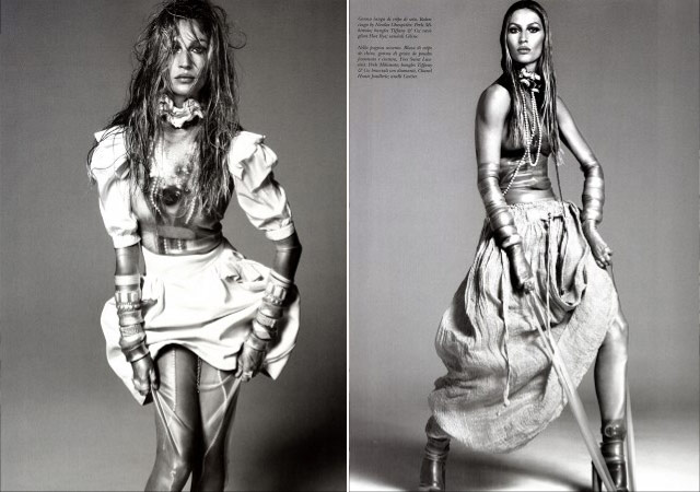 Gisele Bundchen Vogue Italy December 2010 3