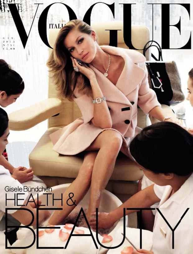 Gisele Bundchen Vogue Italy June 2013 cover