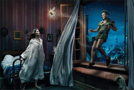 Gisele Bundchen Disney Wendy Darling by Annie Leibovitz
