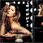 Gisele Bunchen The One D & G Perfume AD