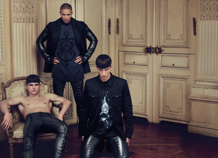 Givenchy Fall 2009 ad campaign men