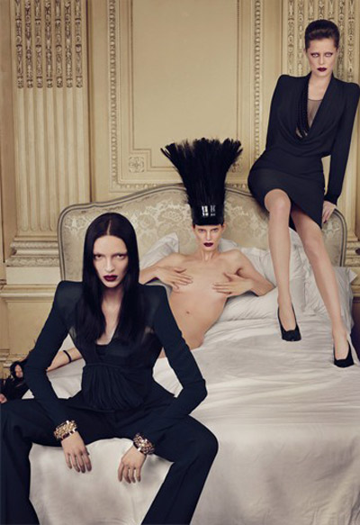 Givenchy Fall Winter 09 10 ad campaign