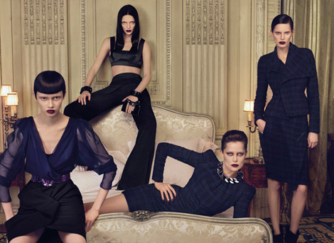 Givenchy Fall Winter 2009 2010 ad campaign