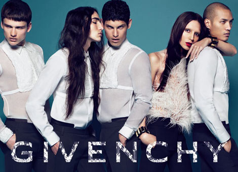 Givenchy fall winter 2010 campaign