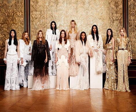Givenchy Haute Couture fall winter 2010 2011 collection